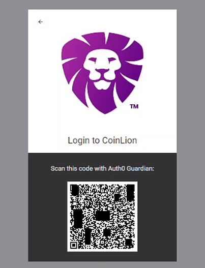 QR code for Auth0